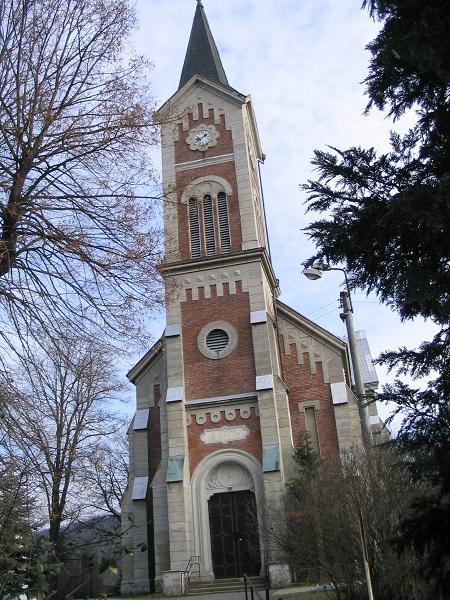 A palásti Szent György-templom  Csáky Károly felvételén