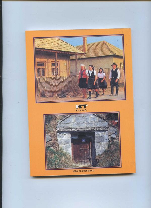 Csábi képek a falumonográfia hátlapján a szerző reprodukcióján