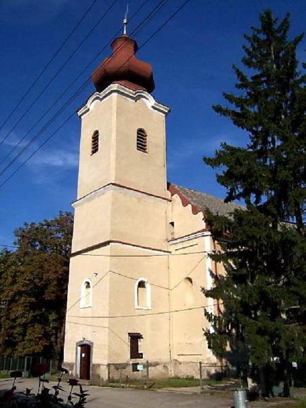 Ipolyvisk temploma Csáky Károly felvételén
