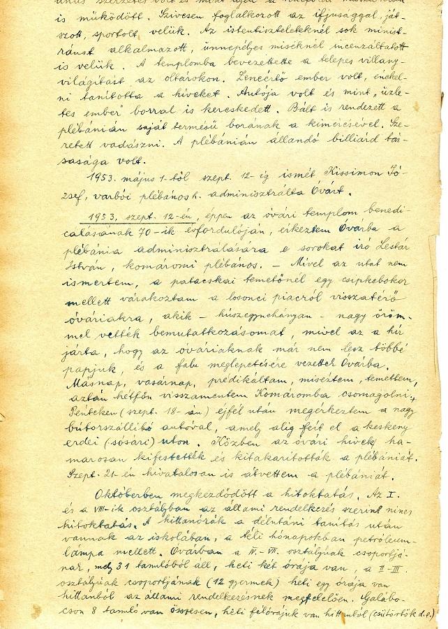 Lestár kézjegye a Historia Domusban Csáky Károly reprodukcióján