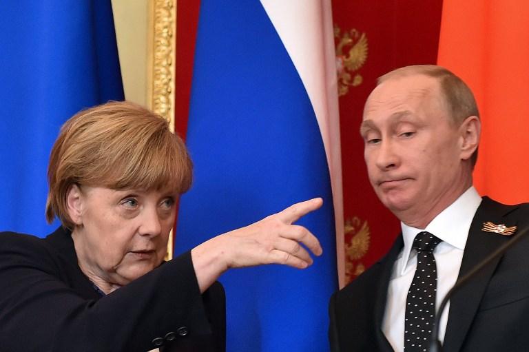 Merkel és Putyin