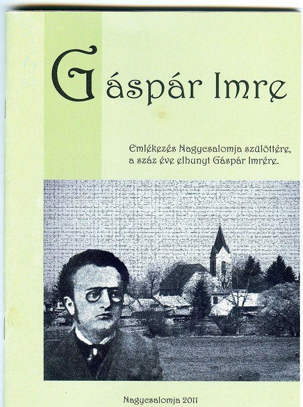 A 2011-es nagycsalomjai konferencia anyagának kötete Csáky Károly reprodukcióján