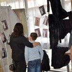 A kiállításon