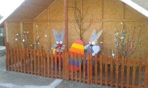 Husvéti kert Csatán