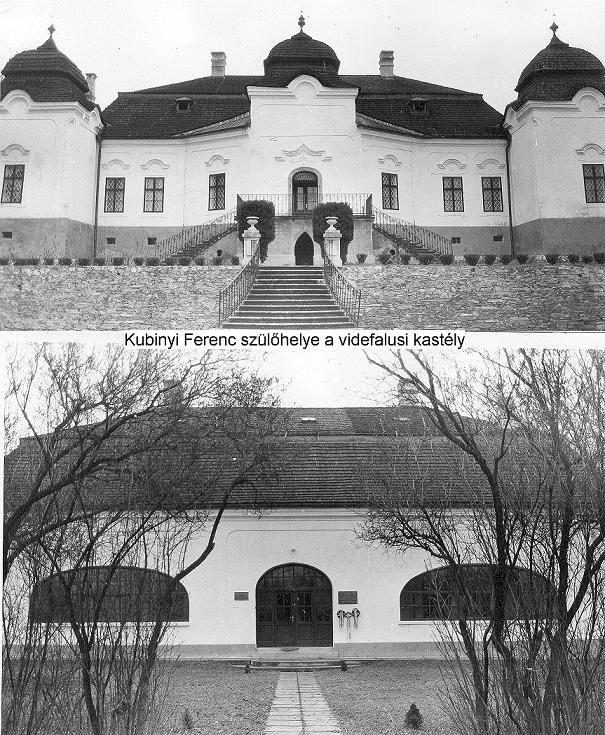 Kubinyi kastély Videfalva