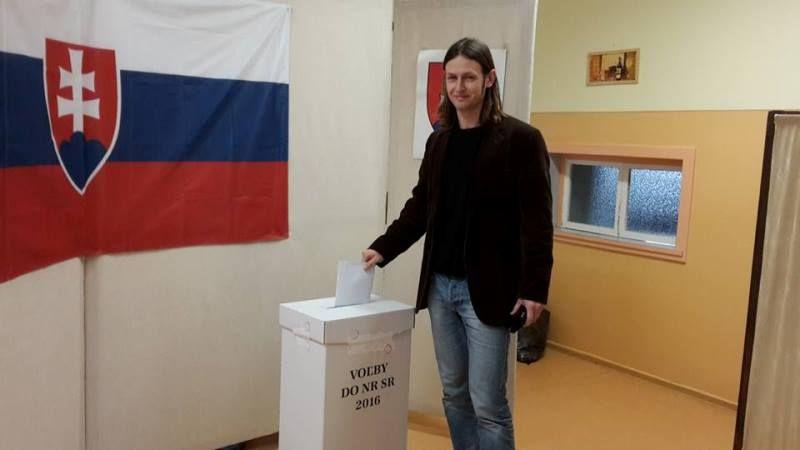 Méry János Somorján szavazott