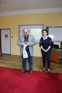 Szomolai Tibor is kapott egy hangoskönyvet ajándékba