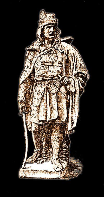 Szondi György drégelyi szobra