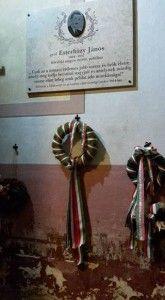 Esterházy János emléktáblája a somorjai katolikus templomban (Fotó: Méry János)