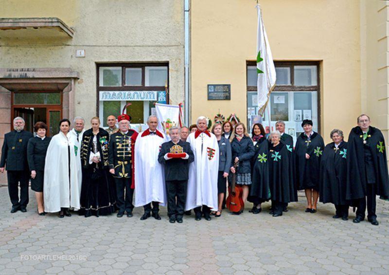 A IV. Szent Jobb ünnepség résztvevői. Fotó: Tóth Lehel