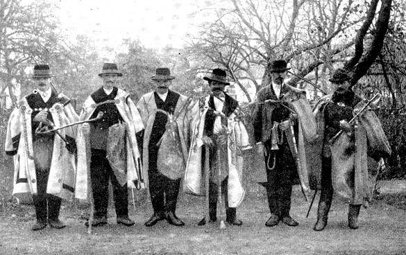 A dudások (Fotó: Néprajzi Múzeum Fotótára)