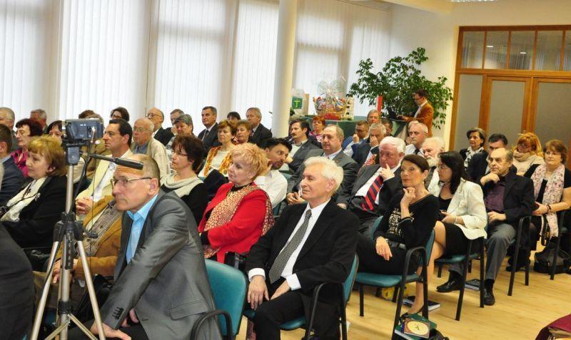A közönség soraiban Balázs F. Attila, Boráros Imre, Dunajszky Géza, Duba Gyula, Koncsol László, Albert Sándor. Fotó: on