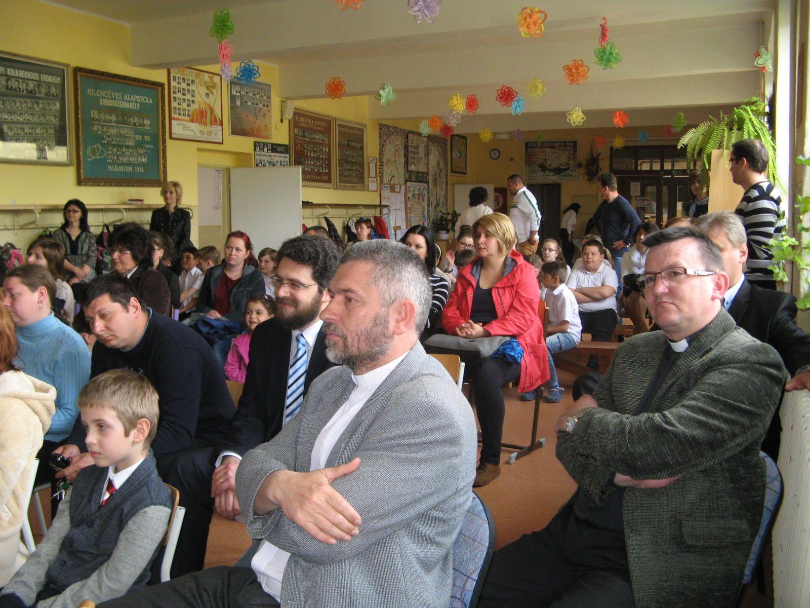 Az egyházak képviselői is részt vettek az eseményen