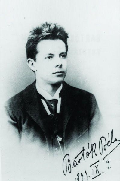 Bartók Béla a XX. század elején. (Fotó: Világháló)