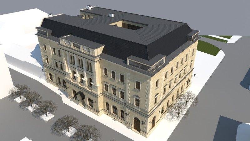 Csémy Olivér építész látványterve
