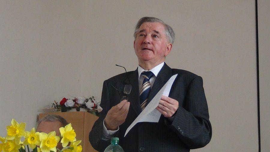 Cs. Varga István professzor előadása