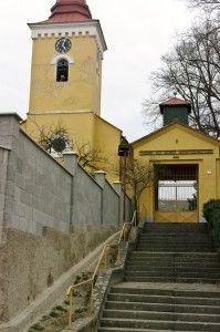 Egyházmarót evangélikus temploma a község honlapján