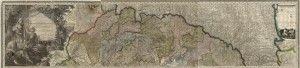 Felvidék Lipzsky térképén