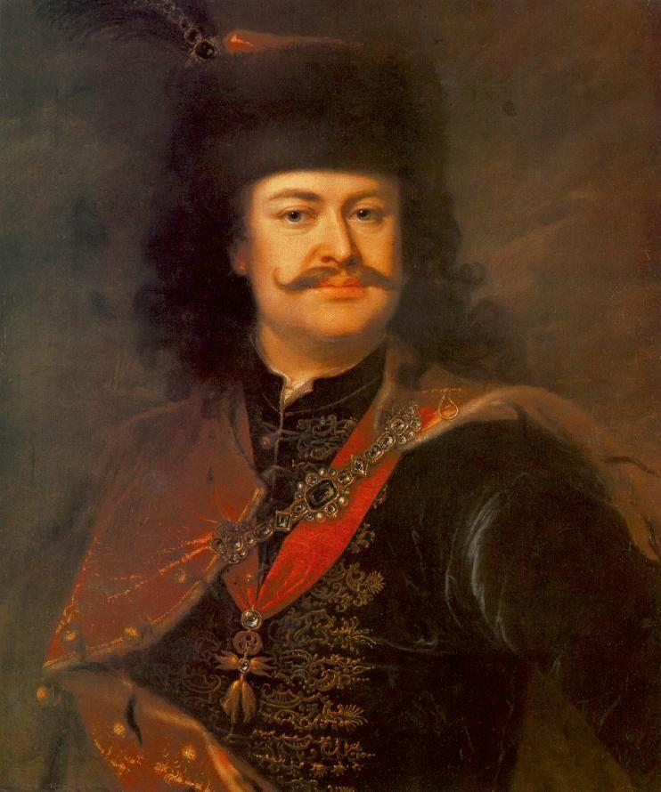 II. Rákóczi Ferenc Mányoki Ádám festményén
