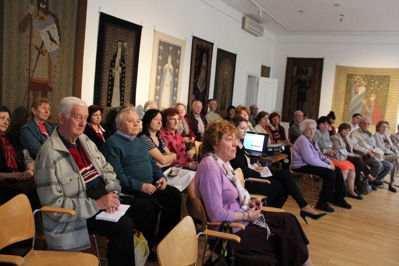 Megtelt az Intézet előadóterme (Fotó: Neszméri Tünde)