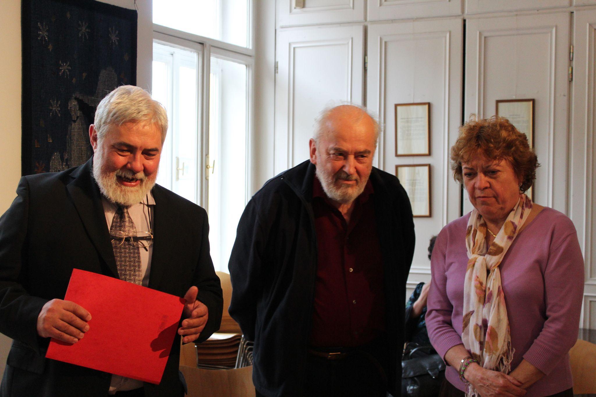 Molnár Imre, Mandics György és Nagy Ildikó (Fotó: Neszméri Tünde)