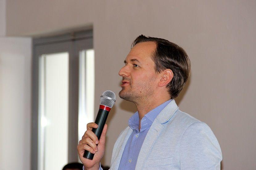 Simon Vilmos. Fotó: bz