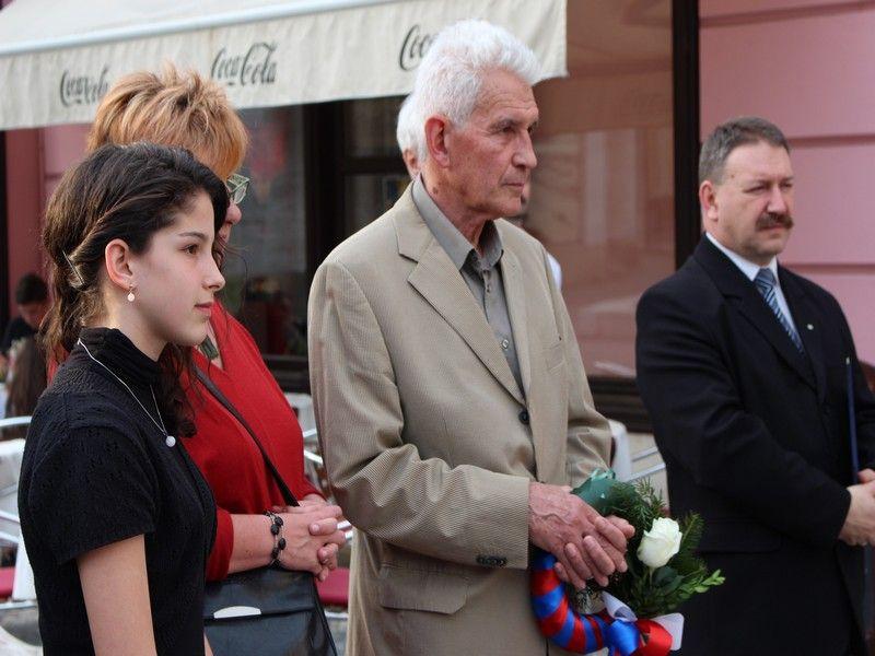 Széchenyi Lili, Széchenyi Géza és felesége, illetve Mózes Endre. Fotó: Szalai Erika