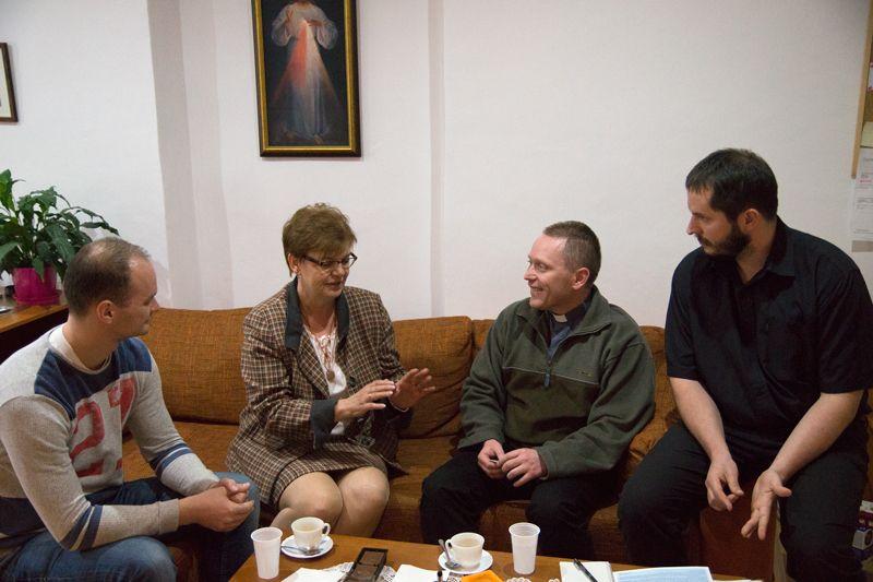Tóth Szilveszter, Pogány Erzsébet, Lépes Lóránt és Kacz Gábor (Fotó: Hideghéthy Andrea)