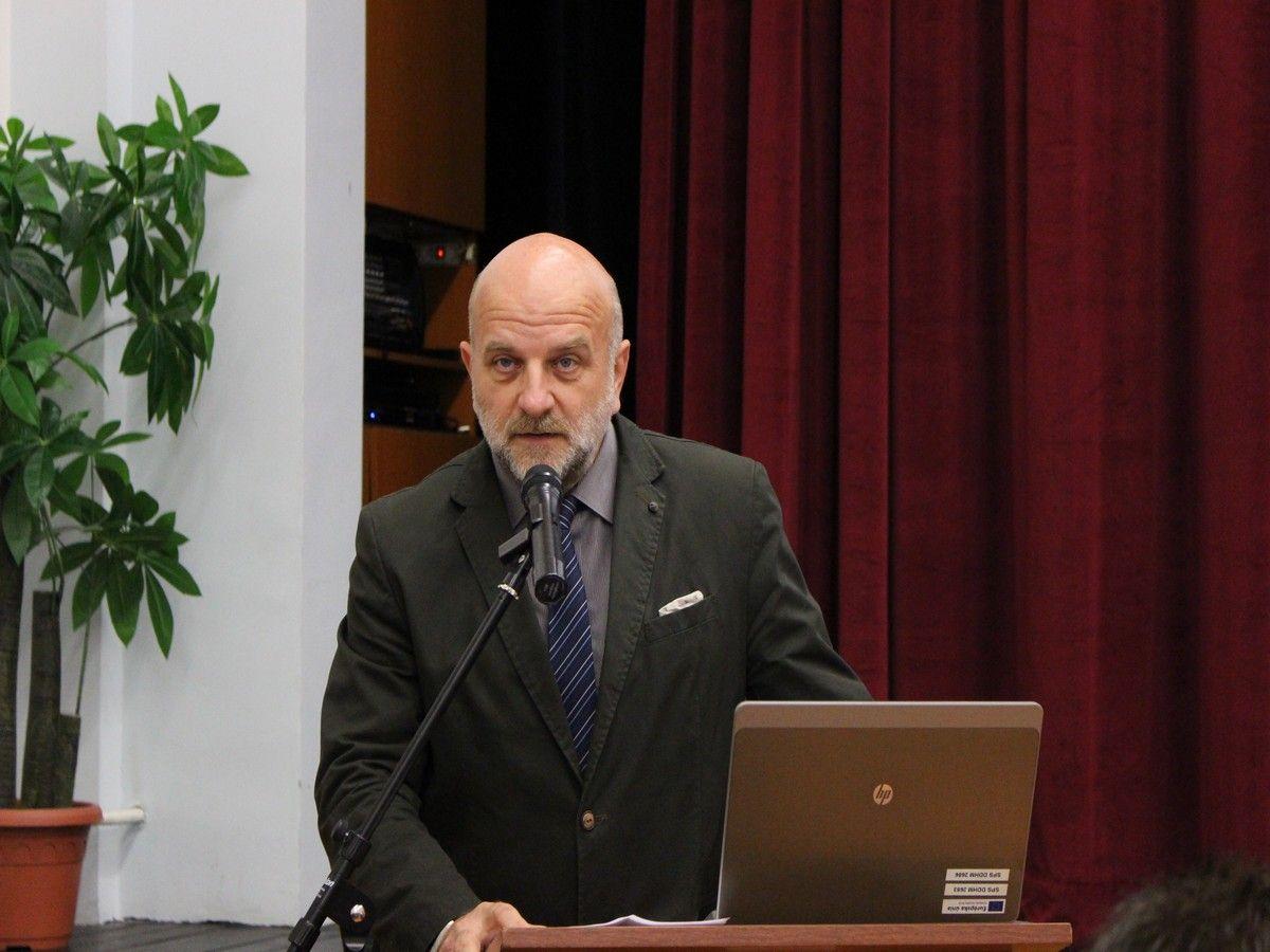 Vetter János, a komáromi Ipari Szakközépiskola igazgatója (Fotó: Szalai Erika)
