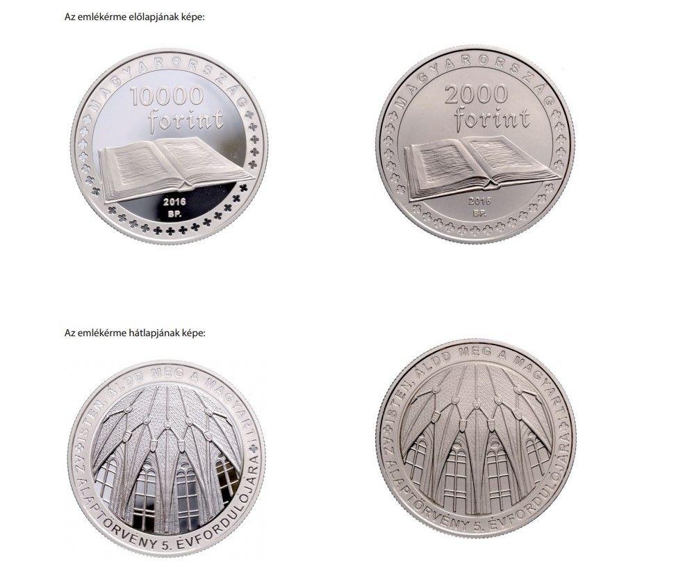 A Magyar Nemzeti Bank által kibocsátott emlékérmék