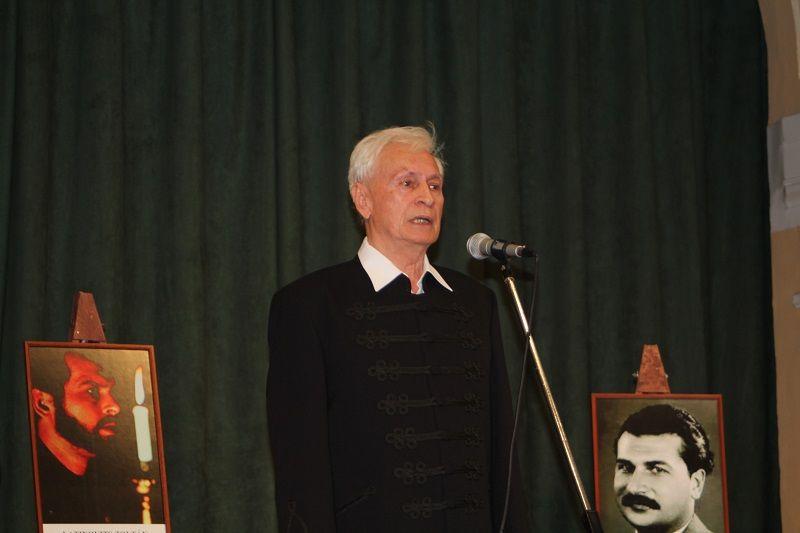 Boráros Imre monológja (Fotó: SZIPT)