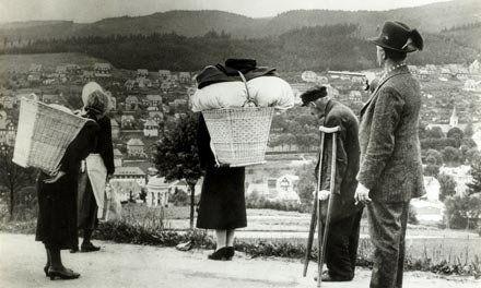 A véres üldöztetés során több tízezer német halt meg (Fotó: mult-kor.hu)
