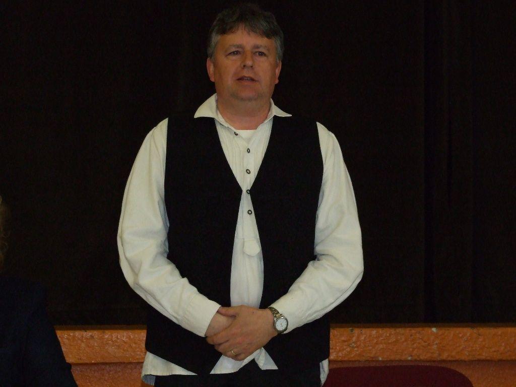 Furik Csaba polgármester előadása