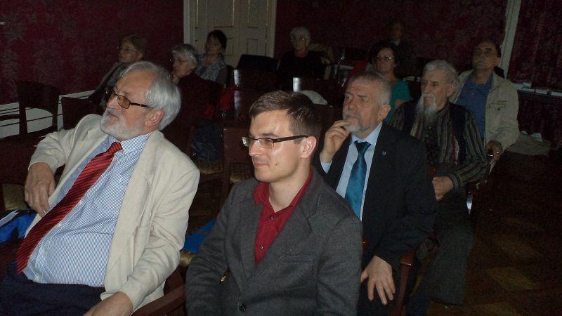 Pusztay János és Izsák Balázs (Fotó: Gecse Géza)