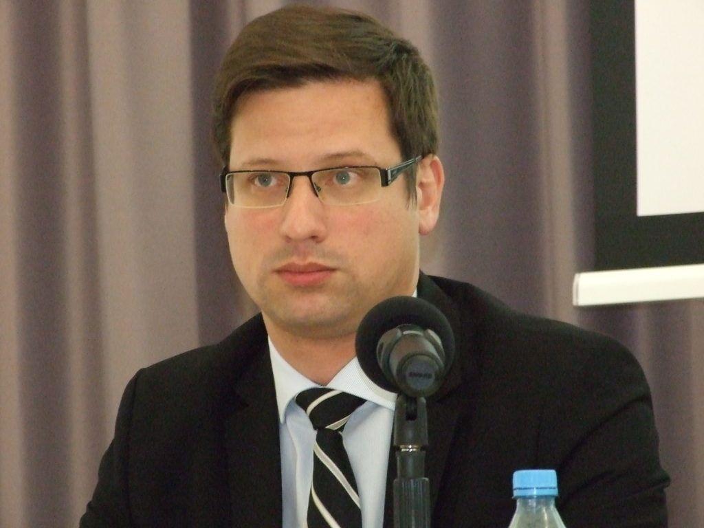 Gulyás Gergely, az Országgyűlés alelnöke (Fotó: Szegedy László)