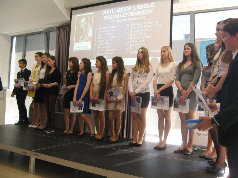 A III. kategória résztvevői.