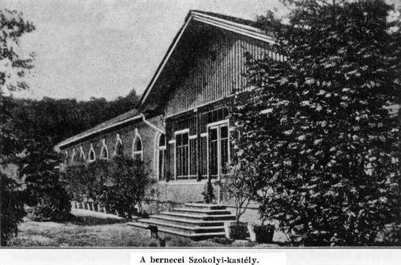 A Szokolyi-kúria egy régebbi felvételen