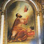 A felsőtúri Szent István mellékoltár Csáky Károly felvételén