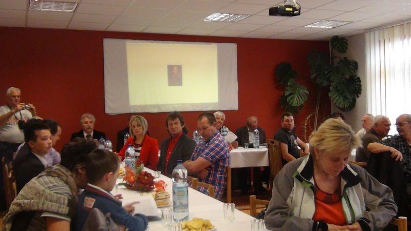 A helyi képviselők is megtisztelték az emlékülést (Fotó: HE)