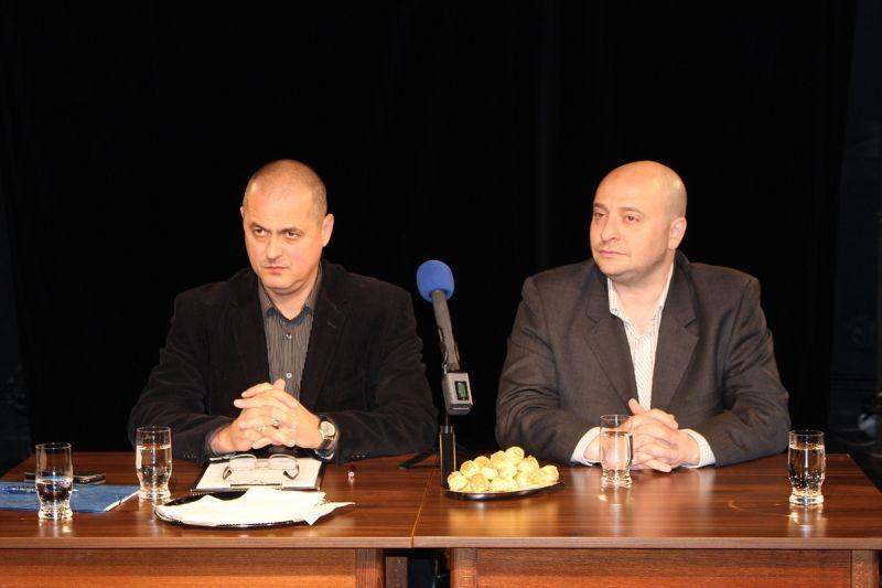 A két direktor, Tóth Tibor és Czajlik József. Fotó: sze