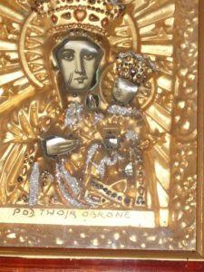 A lengyelek Madonna-képe Csáky Károly felvétlén