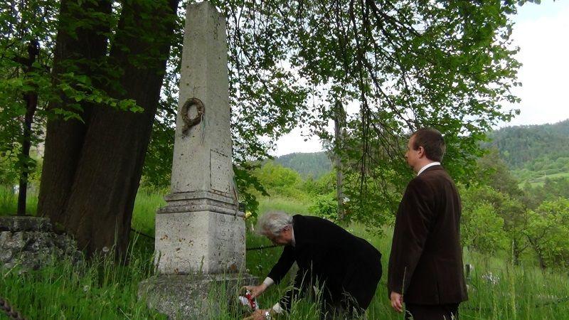 A szepességi túra a Branyiszkói-emlékműnél ért véget (Fotó: HE)