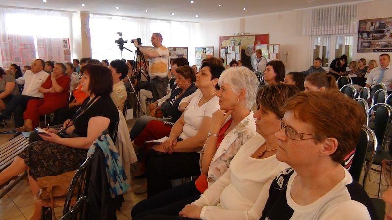 A vendégek és résztvevők (Fotó: HE)