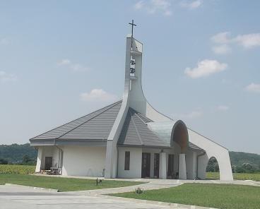 Az új túri templom