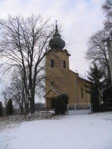 Az 1932-ben épült református templom. Csáky Károly felvétele