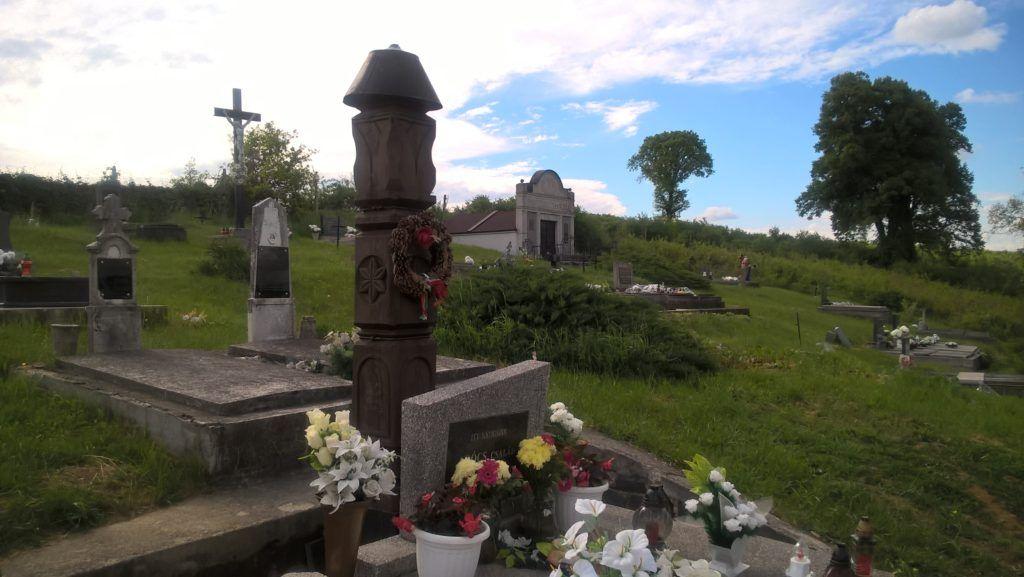 Az Agócs család sírboltja Baracán (Fotó: Pósa Dénes)