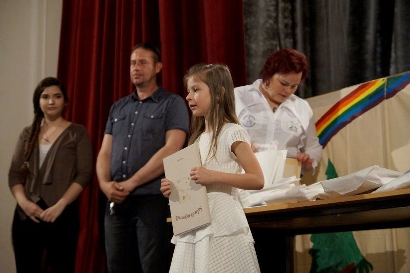 Az első különdíjas, Molnár Amina Réka. Fotó: ha