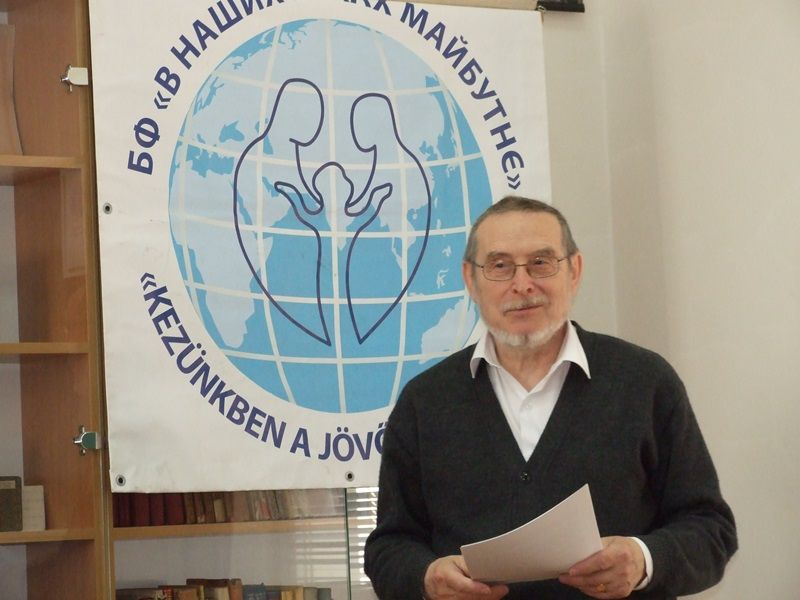 Buza Domonkos, a Magyar Lelki Elsősegély Telefonszolgálatok Szövetségének szakmai alelnöke