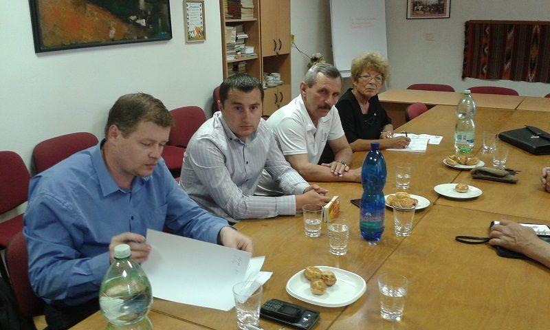 Csirmaz Miklós, Cziprusz Zoltán, Feledy Zoltán, Hanobík Irén (Fotó: HE)