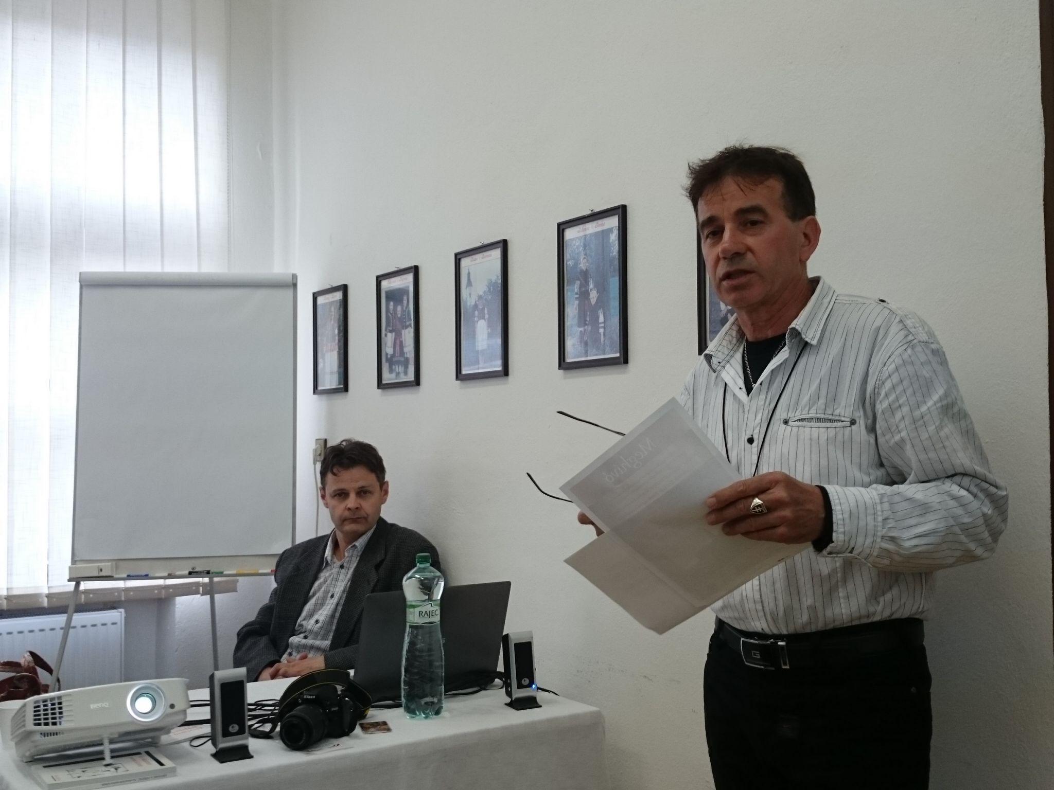 Ladányi Lajos, a Zoboralji Kulturális és Információs Központ igazgatója
